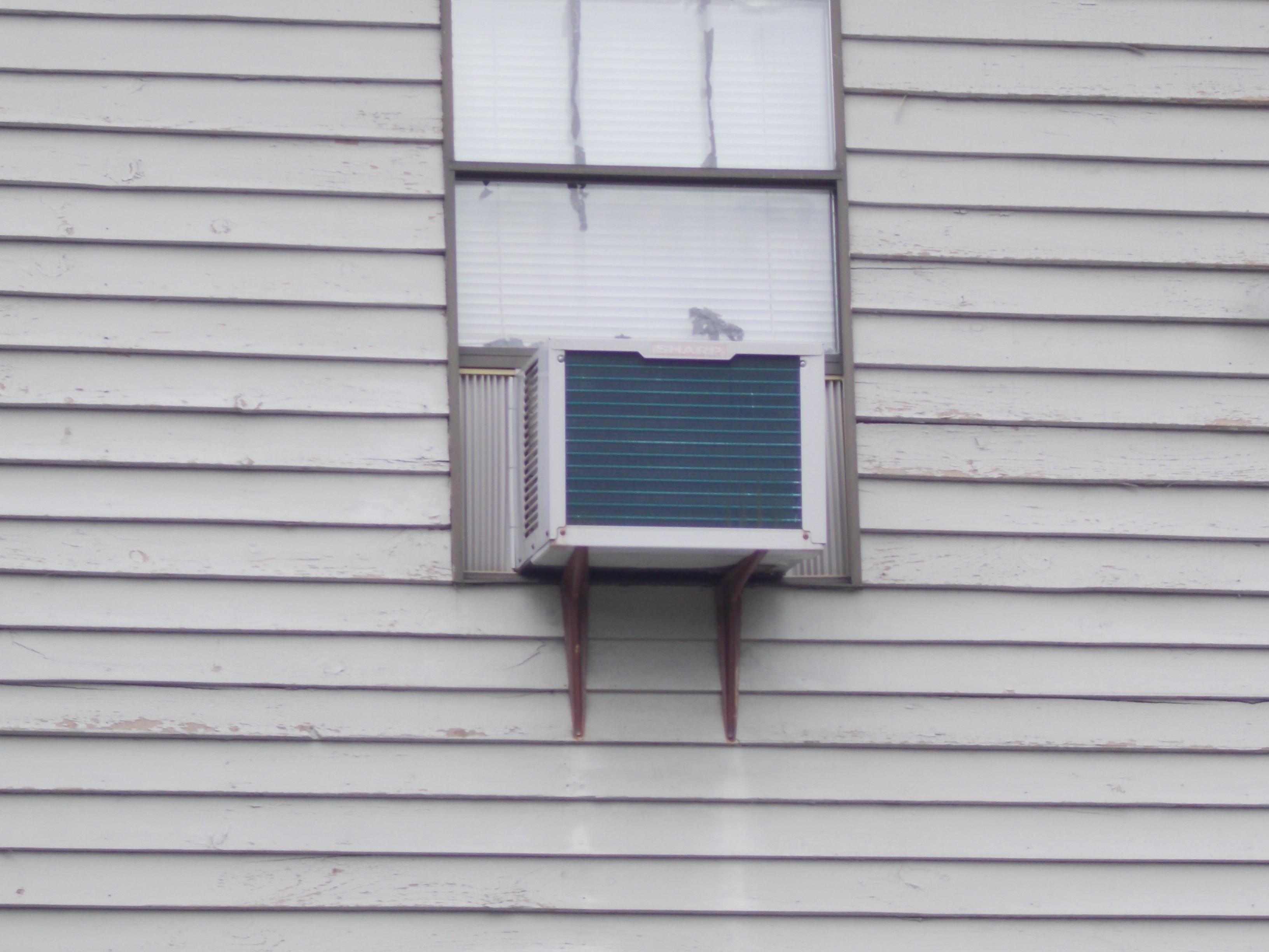 AIR CONDITIONER SUPPORT BRACKETS Aspetuck Village #40596D